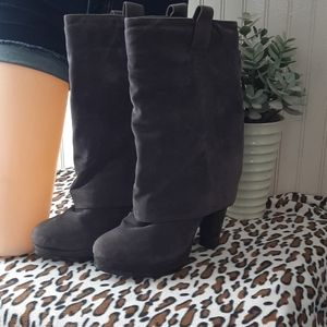 Fold over style boots